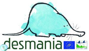 Logotipo do proxecto LIFE + DESMANIA